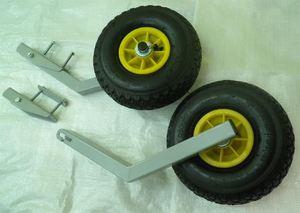 Как изготовить транцевые колеса