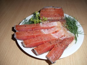 Как готовиться рыба кунджа